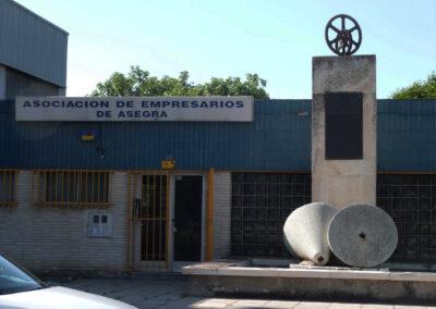 Asegra Granada exterior antes de la reforma