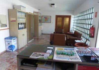 Asegra Granada Oficina antes de la reforma